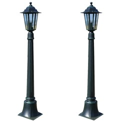 Tuinlampen 2 st Preston 105 cm