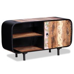 Tv-meubel 90x30x48 cm gerecycled hout