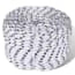 Het gevlochten polyester touw wordt veel gebruikt in de scheepvaart en is ook ideaal voor algemene toepassingen, zoals gebruik als een draaglijn of scheerlijn, maar ook voor het vastzetten van bijvoorbeeld zeilen en waslijnen. Het polyester touw heeft een