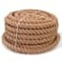 Dit jute touw is erg populair in verschillende vakgebieden dankzij de universele toepassingen. Het is ideaal voor gebruik in landbouw of scheepvaart, maar ook voor privédoeleinden rondom het huis en in de tuin, bijvoorbeeld als reling voor een veranda