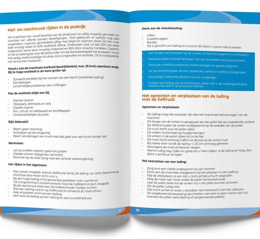 Cursusboek Heftruck & Reachtruck