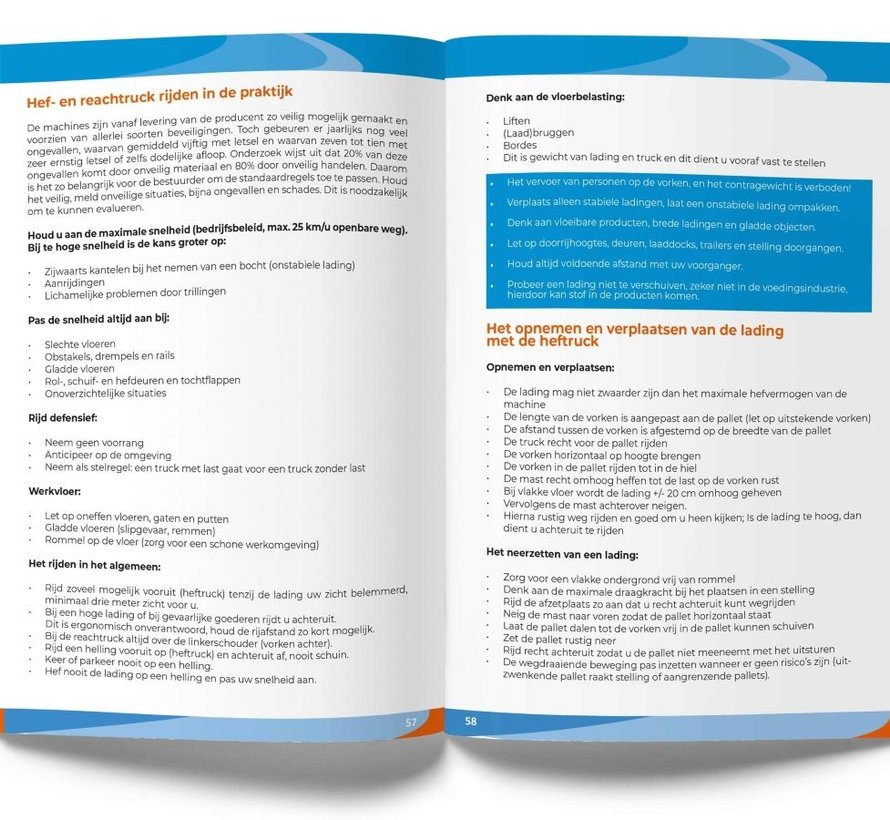 Cursusboek Heftruck