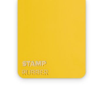 Rubber Stamp 2.3mm  - 3sheets