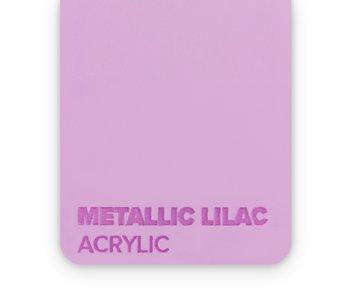 Acrylic Metallic Lilac 3mm  - 3/5sheets