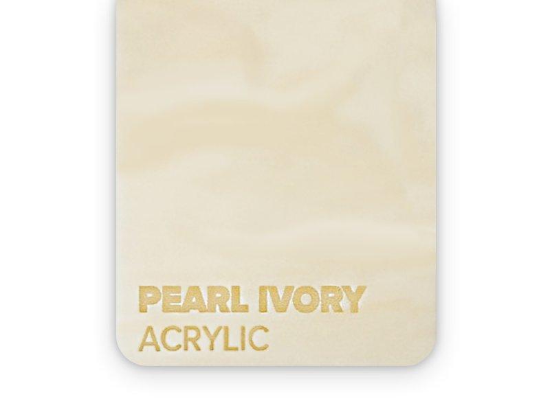 Acrylic Pearl Ivory 3mm