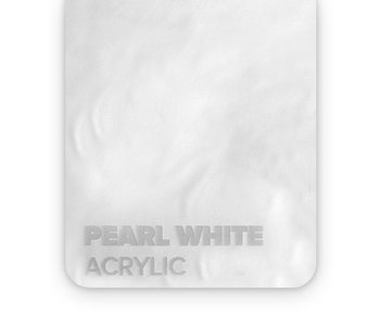 Acrylic Pearl White 3mm