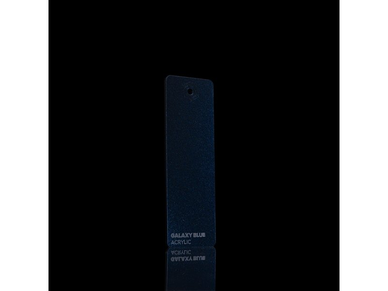 Acrylic Galaxy Blue 3mm  - 3/5sheets