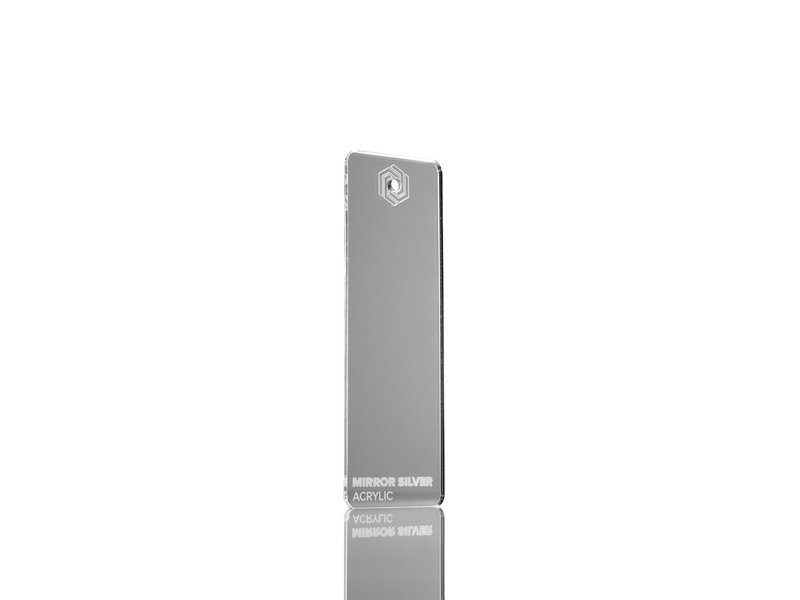 Acrylic Mirror Silver 3mm  - 3/5sheets