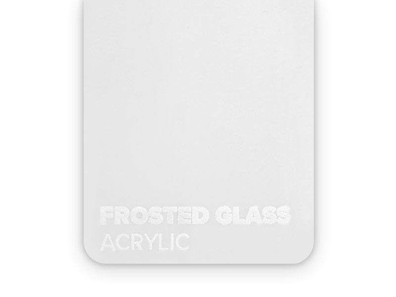 Acrylic Frosted Glass 3mm