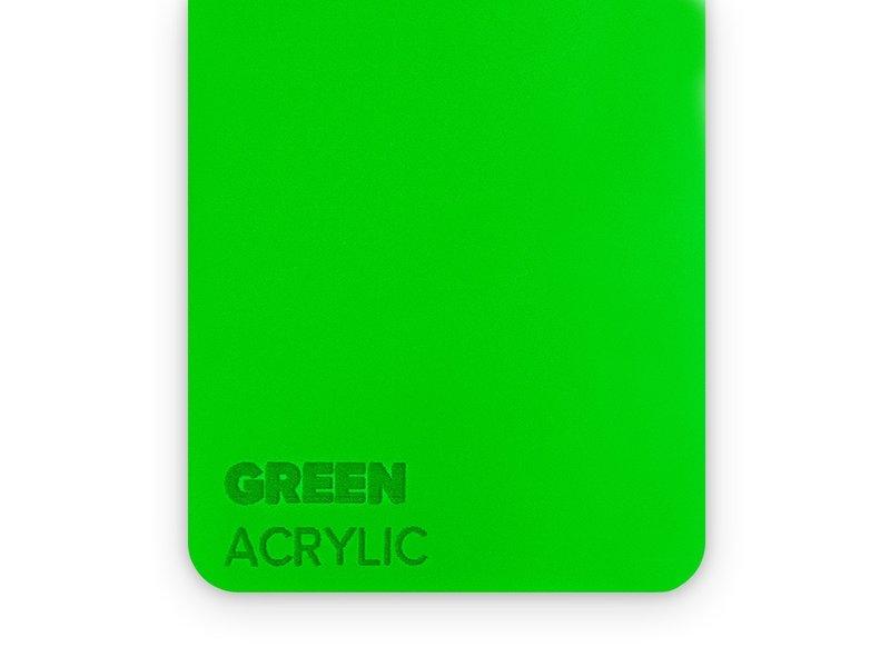 Acrylic Green 3mm  - 3/5sheets