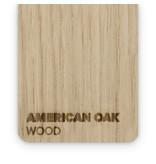 Wood American Oak 3mm  - 3/5sheets