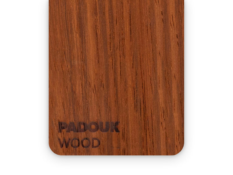 Wood Padouk 3mm  - 3/5sheets