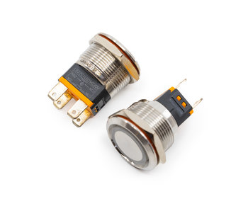 Metal Button 220V B100064