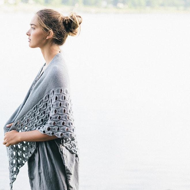 Open Waters Shawl - Melanie Berg (StrickKit)