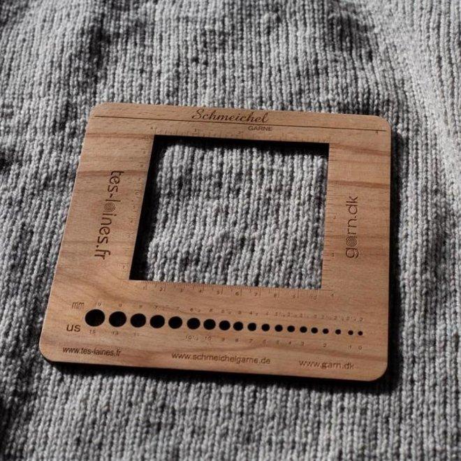 Kremke Soul Wool - Maschenproben-Rahmen