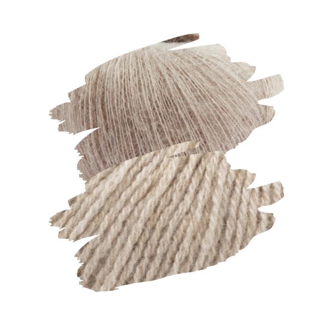 Terrazzo Pullunder - PetiteKnit (StrickKit)