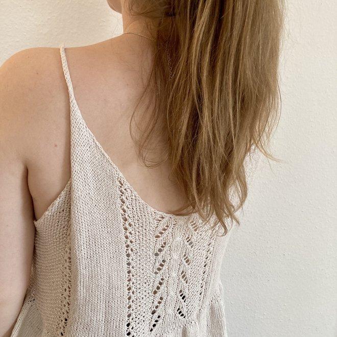Maia Summer Top - quasigerade (StrickKit)