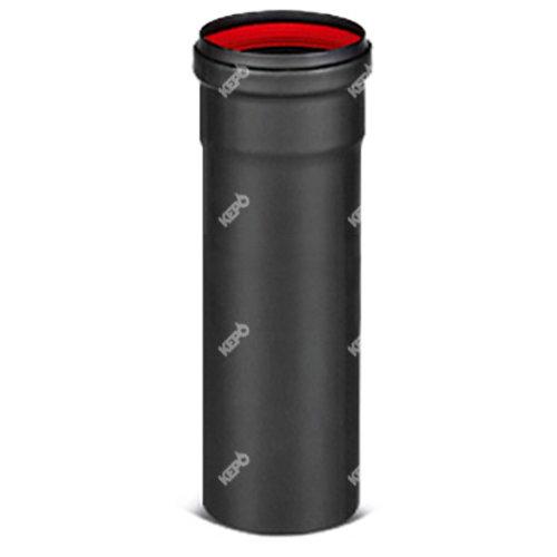 Kepo Einwandiges Stahlrohr, Durchmesser 80 mm L: 1000 mm