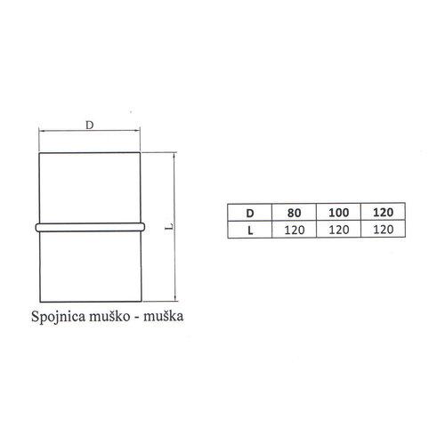 Kepo Schlüssel - Kupplung, 80 M-M