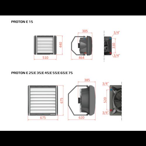 Proton Proton cv heater E65