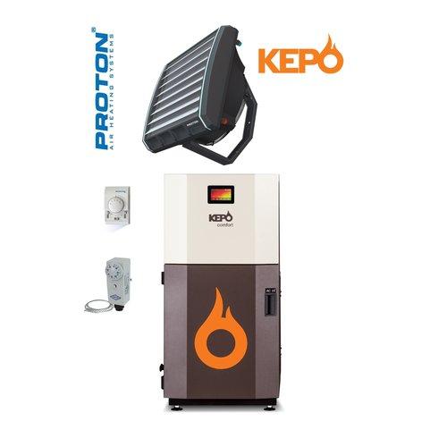 Kepo Pellet verwarming set MC20 - E25