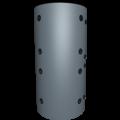 BNS Buffervat 1000L met Tapwater spiraal en 1 extra spiraal.
