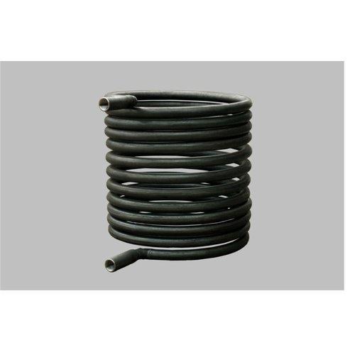 Buffervat 1000L met Tapwater spiraal en 1 extra spiraal.