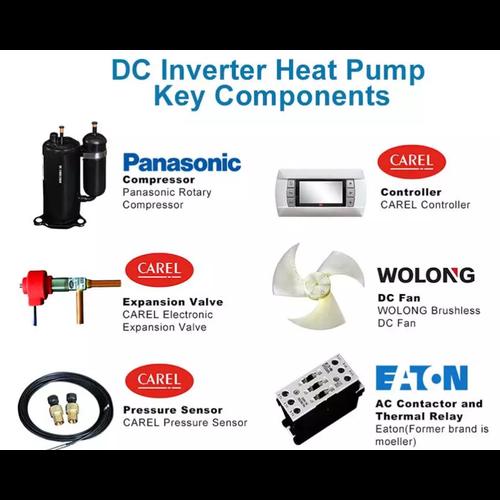 SPRSUN SPRSUN CGK030V2  9,5kw  inverter warmtepomp