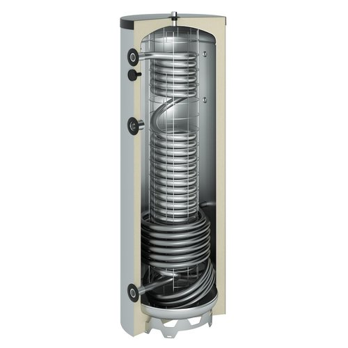 BST Zonneboiler set van BST 2x cpc 30 + 400L buffer Tapwater + cv