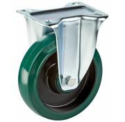 LIV SYSTEMS fiksno kolo + elastična gumi obloga Ø125 x W35mm Za 200kg