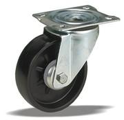 LIV SYSTEMS Swivel castor + solid polypropylene wheel Ø108 x W36mm for 150kg