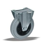 LIV SYSTEMS fiksno kolo + siva guma Ø80 x W30mm Za 65kg