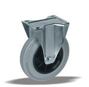 LIV SYSTEMS fiksno kolo + siva guma Ø150 x W40mm Za 170kg
