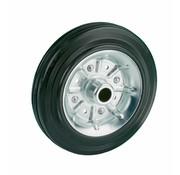 LIV SYSTEMS transport wheel + black rubber tread Ø125 x W37mm for 130kg