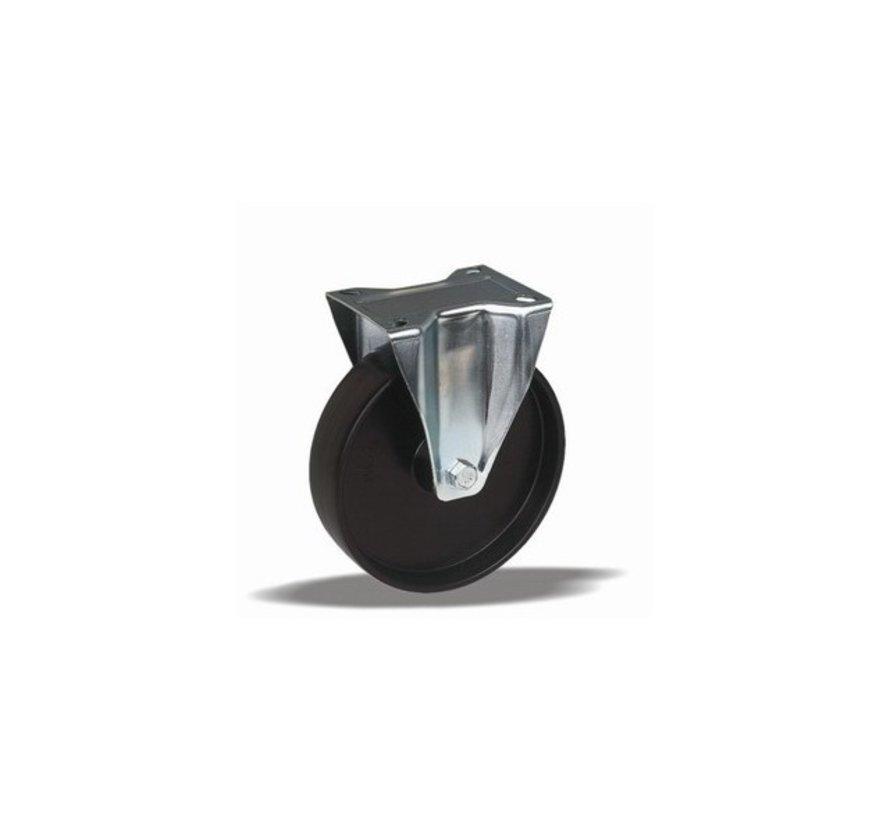 standardno fiksno kolo + trdno poliamidno kolo Ø100 x W35mm Za  200kg Prod ID: 42853