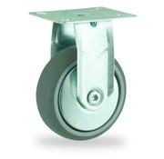 LIV SYSTEMS Fixed castor + polyethylene tread Ø75 x W24mm for 60kg