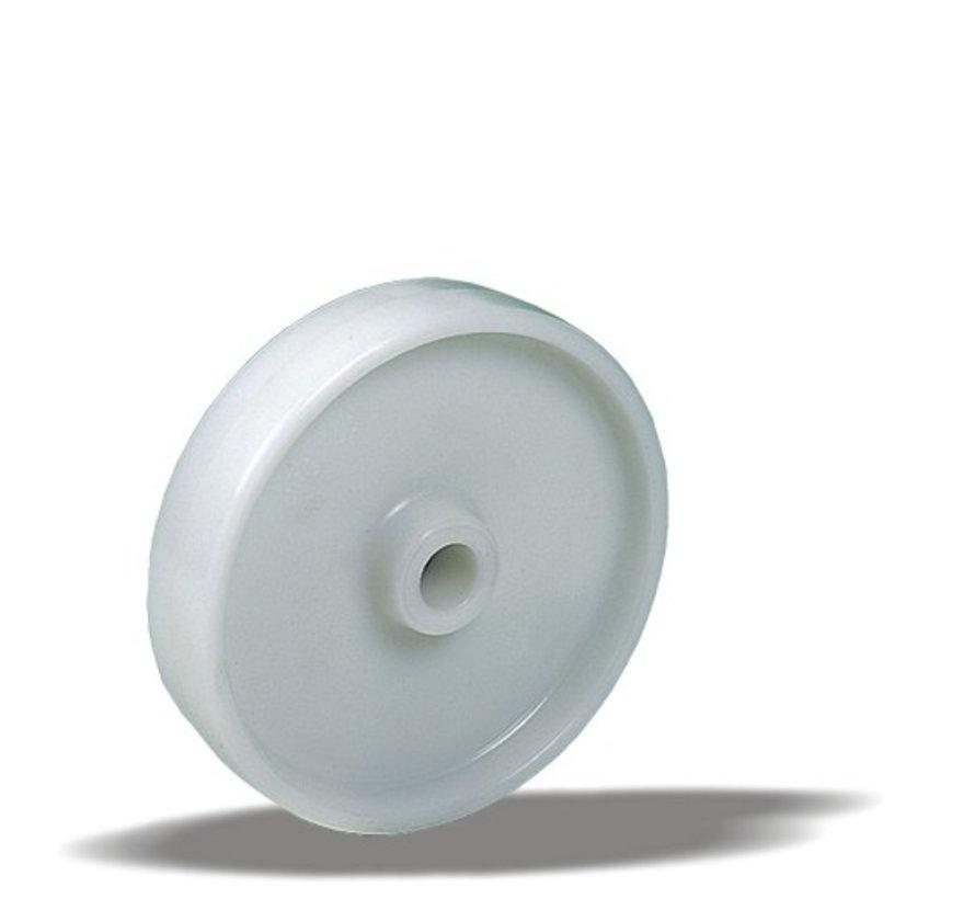 heavy duty wheel + solid polyamide wheel Ø200 x W44mm for  500kg Prod ID: 23707