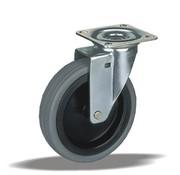 LIV SYSTEMS vrtljivo kolo + termoplastična guma Ø75 x W25mm Za 75kg