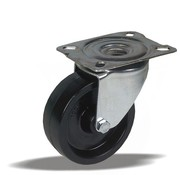 LIV SYSTEMS vrtljivo kolo + toplotno odporno poliamidno kolo Ø80 x W35mm Za 150kg