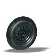 LIV SYSTEMS kolo + črna pnevmatika Ø400 x W100mm Za 150kg