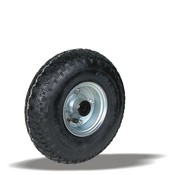 LIV SYSTEMS kolo + črna pnevmatika Ø260 x W85mm Za 200kg