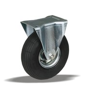 LIV SYSTEMS fiksno kolo + črna pnevmatika Ø220 x W65mm Za 200kg