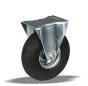 LIV SYSTEMS fiksno kolo + črna pnevmatika Ø260 x W85mm Za 200kg