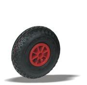 LIV SYSTEMS kolo + črna pnevmatika Ø260 x W85mm Za 150kg