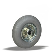 LIV SYSTEMS Transport wheel with grey pneumatic  Ø200 x W50mm for 75kg