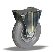 LIV SYSTEMS fiksno kolo + siva pnevmatika Ø200 x W50mm Za 60kg
