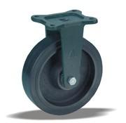 LIV SYSTEMS fiksno kolo + črna guma Ø200 x W50mm Za 500kg