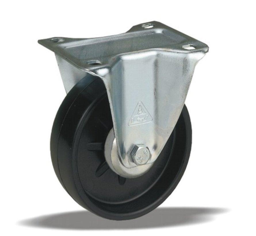standardno fiksno kolo + trdno polipropilensko kolo Ø108 x W36mm Za  150kg Prod ID: 91623