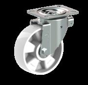 LIV SYSTEMS vrtljivo kolo + trdno poliamidno kolo Ø160 x W50mm Za 400kg