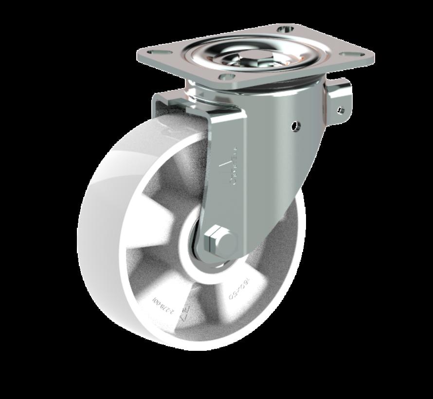 za težje delovne pogoje vrtljivo kolo  + trdno poliamidno kolo Ø160 x W50mm Za  400kg Prod ID: 31774